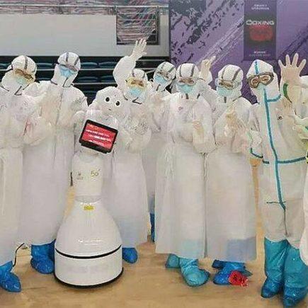 Ολόκληρη πτέρυγα νοσοκομείου στην Κίνα στελεχώνεται με ρομπότ – Newsbeast