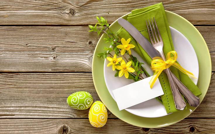 Πώς να στολίσεις υπέροχα το πασχαλινό σου τραπέζι – Newsbeast