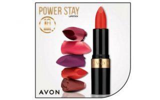 Γνωρίστε το νέο κραγιόν Power Stay της Avon με μοναδική σύνθεση μακράς διαρκείας και ανάλαφρη αίσθηση